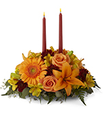 The Bright Autumn Centerpiece