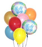 Baby Boy Balloon Bouquet